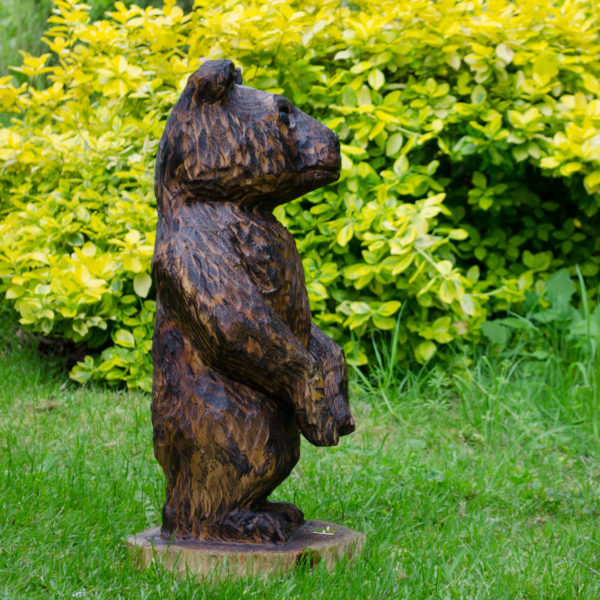 Brown Bear Chainsaw Carving