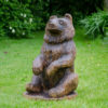 Walnut Bear Sculpture